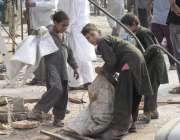 لاہور: انارکلی بازار میں تجاوزات کیخلاف گرینڈ آپریشن کے بعد خانہ بدوش ..