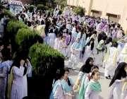 راولپنڈی: سیٹلائٹ ٹاؤن میں پوسٹ گریجوایک کالج فار ویمن کے ہاسٹل میں ..