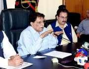 مظفر آباد: وزیراعظم آزاد کشمیر راجہ فاروق حیدر خان دریائے نیلم میں ..