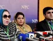 اسلام آباد: انروائس ویلفیئر ٹرسٹ کی صدر اور انٹر نیشنل ہیومن رائٹس ..