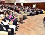 اسلام آباد: صدر مملکت ممنون حسین ریڈ کراس ریڈ کریسنٹ کنونشن سے خطاب ..