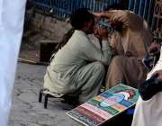 راولپنڈی: محکمہ ہیلتھ و انتظامیہ کی نا اہلی ، راجہ بازارمیں بیٹھا اطائی ..