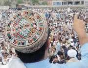 بنوں: حلقہ پی کے89پر مبینہ دھاندلی کیخلاف اقوام میریان کے مظاہرین احتجاجی ..