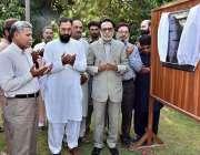 اسلام آباد: ایم ڈی اے پی پی مسعود ملک ہیڈکوارٹر میں مسجد کی تعمیر کا ..