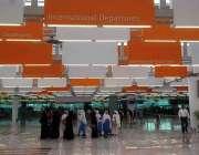 اسلام آباد:نئے تعمیر ہونیوالے اسلام آباد انٹر نیشنل ایئر پورٹ کے اندرونی ..