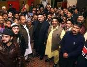 راولپنڈی: وفاقی وزیر ریلوے شیخ رشید احمد کا کرسمس کے حوالے سے منعقدہ ..