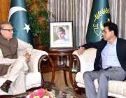 اسلام آباد: وزیر مملکت عارف علوی سے وزیر مملکت برائے انفارمیشن ٹیکنالوجی ..