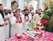 لاہور: یوم دفاع پاکستان کے موقع پر ناظم اعلیٰ جامعہ نعیمیہ علامہ ڈاکٹر ..