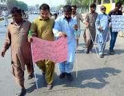 حیدر آباد: معذور افراد مقبوضہ کشمیر پر بھارتی قبضہ کے خلاف یوم سیاح ..