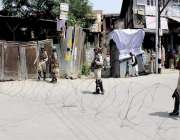 سری نگر: مقبوصہ کشمیر میں آٹھواں جمعةالمبارک جب جامعہ مسجد سرینگر جانے ..