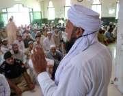 پشاور: ماہ رمضان کے چوتھے جمعةالمبارک کے موقع پر خطبہ دیا جار ہاہے۔