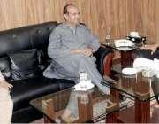 مظفر آباد: آزاد کشمیر کے وزیر تعمیرات عامہ چوہدری طارق فاروق ملاقات ..