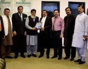 اسلام آباد: صدر آئی سی سی آئی شیخ عامر حید وہاڑی چیمبر آف کامرس اینڈ ..
