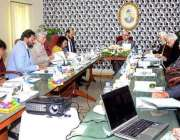 کراچی: وزیر اعظم کے مشیر عرفان صدیقی قائداعظم مینجمنٹ بورڈ کے اجلاس ..