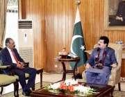 اسلام آباد: قائمقام صدر محمد صادق سنجرانی سے گورنر بلوچستان جسٹس رامان ..