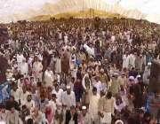 لاہور: کالا شاہ کاکو میں ہزاروں افراد امام کعبہ الشیخ صالح بن محمد ابراہیم ..