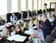 اسلام آباد:وزیر خزانہ ڈاکٹر شمشاد اختر محکمانہ اجلاس کی صدارت کر رہی ..