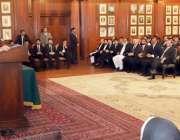 لاہور: صدر مملکت ڈاکٹر عارف علوی گورنر ہاؤس میں وکلاء کے وفد سے ملاقات ..