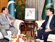 اسلام آباد: صدر مملکت ممنون حسین سے آسٹریلیا کے لیے نومنتخب ہائی کمشنر ..