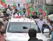 لاہور: تحریک انصاف وسطی پنجاب کے صدر عبدالعلیم خان اور حلقہ این اے127سے ..