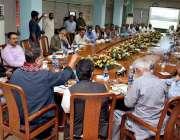 جامشورہ: چیئرمین سینیٹ سب کمیٹی سینیٹر نعمان وزیر خٹک، سینیٹر آغا شہزاد ..
