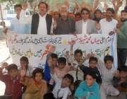 لاہور: قومی مسیحا پارٹی کے زیر اہتمام اپنے مطالبات کے حق میں احتجاج ..
