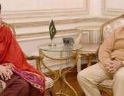 لاہور: مسلم لیگ (ن) کے صدر شہباز شریف سے سابق سپیکر بلوچستان اسمبلی اور ..