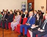 بیجنگ: چینگ میں پاکستان کے سفیر مسعود خلیل ایک تقریب سے خطاب کر رہے ..