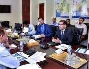 اسلام آباد: نگران وزیر سید علی طفر (APTMA)کے اجلاس کی صدارت کر رہے ہیں۔