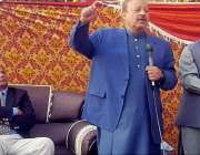 میرپور: پی ٹی آئی کشمیرکے صدر بیرسٹر سلطان محمود چوہدری نیو سٹی میر ..