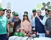 اسلام آباد: صدر مملکت ڈاکٹر عارف علوی Clean & Green Pakistanمہم کے دوران خطاب ..