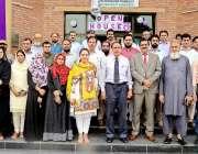 راولپنڈی: بارانی زرعی یونیورسٹی میں منعقدہ اوپن ہاؤس کے شرکاء کا وائس ..