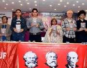 کراچی: آرٹس کونسل آف پاکستان کراچی میں منعقدہ کتاب (روسی محنت کشوں کے ..