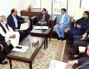 اسلام آباد: وزیر مملکت برائے رانا محمد افضل خان سے عبدالوحید کی قیادت ..