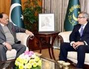 اسلام آباد: صدر مملکت ممنون حسین سے ہالینڈ کے لیے پاکستان کے نامزد سفیر ..