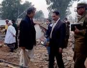 اٹک: چیئرمین وزیراعلیٰ کمیشن ٹیم پنجاب ڈپٹی کمشنر رانا اکبر حیات کے ..