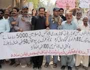 حیدر آباد: سندھ ایجوکیشن ڈیپارٹمنٹ اسٹاف ایسوسی ایشن کی طرف سے اپنے ..