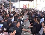 حیدر آباد: نویں محرم الحرام کے مرکزی جلوس میں عزاداروں کی بڑی تعداد ..
