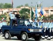 رسالپور: صدر مملکت ڈاکٹر عارف علوی رسالپور میں کیڈٹس کی پاسنگ آؤٹ پریڈکا ..
