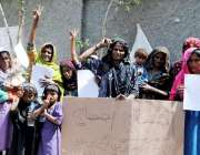 حیدر آباد: 13سالہ رضوانہ کے اغواء کے خلاف سیری کے رہائشی احتجاجی مظاہرہ ..