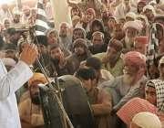 شہید سکندر آباد سوراب: متحدہ جلس عمل کے ترجمان اور حلقہ پی بی36کے نامزد ..