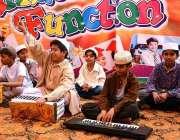 فیصل آباد: میری لینڈ گرامر سکول کی سالانہ تقریب تقسیم انعامات کے موقع ..