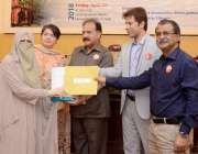 لاہور: پنجاب یونیورسٹی شعبہ انفارمیشن مینجمنٹ کے زیر اہتمام ورلڈ بک ..