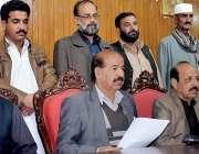 راولپنڈی: متحدہ ٹرانسپورٹ فیڈریشن راولپنڈی اسلام آباد کے چیئرمین راجہ ..