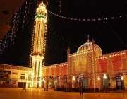سرگودھا: عید الفطر کی آمد کے موقع پر حامد شاہ مسجد کو خوبصورت لائٹنگ ..