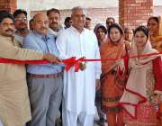 فیصل آباد: وزیر مملکت حاجی محمد اکرم انصاری گورنمنٹ اسلامیہ کالج میں ..