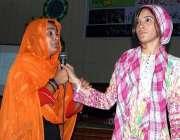 اسلام آباد:کشمیری عوام سے اظہار یکجہتی کے حوالے سے اسلام آباد کالج ..