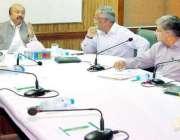 لاہور: صوبائی وزیر جنگلات محمد سبطین خان اعلیٰ سطحی اجلاس کی صدارت ..