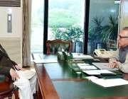 اسلام آباد: صدر مملکت ڈاکٹر عارف علوی سے اپوزیشن لیڈر گلگت بلتستان ..