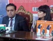 اسلام آباد: جمال قیصر کتاب رونمائی کے حوالے سے پریس کانفرنس کر رہے ہیں۔